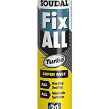 Soudal Fix All High Tack Turbo ragasztó, 290 ml